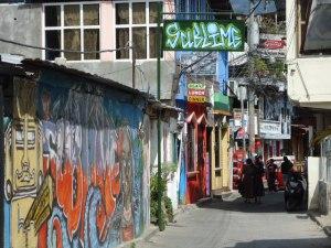 """Der Nachtklub """"Sublime"""" in San Pedro la Laguna. Hier gint´s nicht nur Alkohol zu kaufen!"""