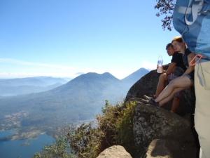 Blick auf den Acatenango bei Antigua