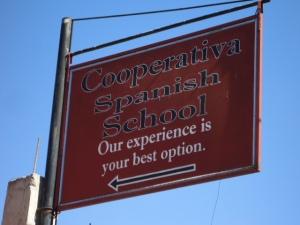 Die Cooperativa in San Pedro la Laguna. Eine der besseren und teureren Schulen!