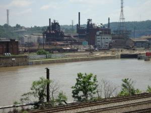 Wo Kohle und Stahl zuhause sind: da liegt Pittsburgh