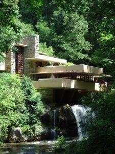 Frank Lloyd Wright´s Fallingwater bei Ohiopyle