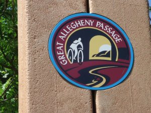 Das Logo des GAP Bike Trails