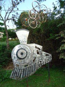 Kunst am Radweg in Rockwood