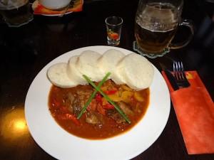 Deftige Speisen der böhmischen Küche